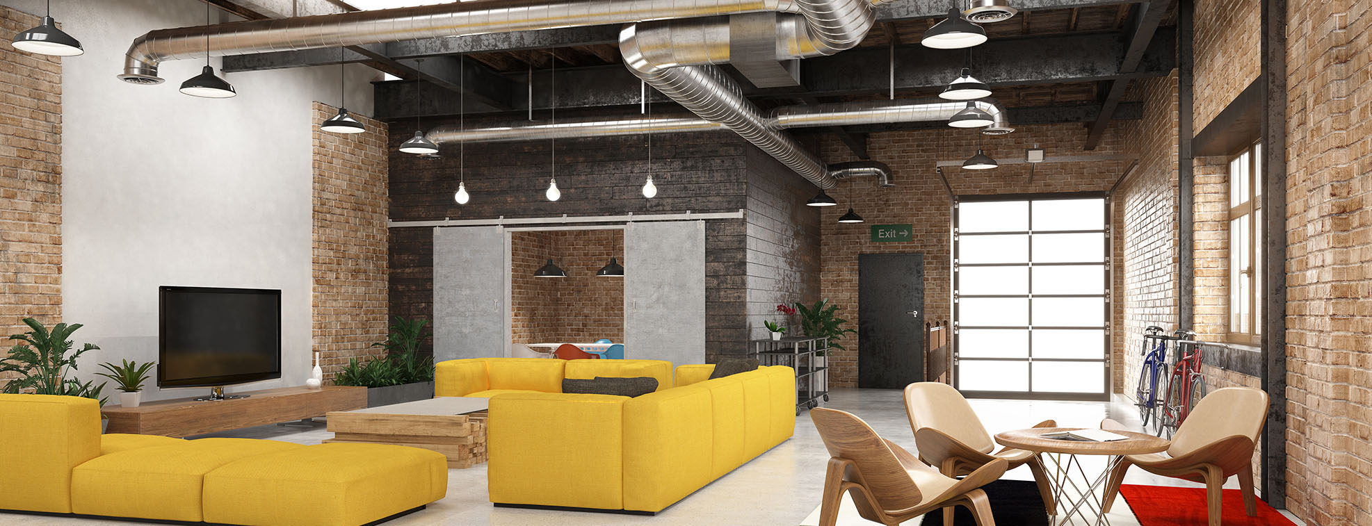Industry Modern Interior Design Styles