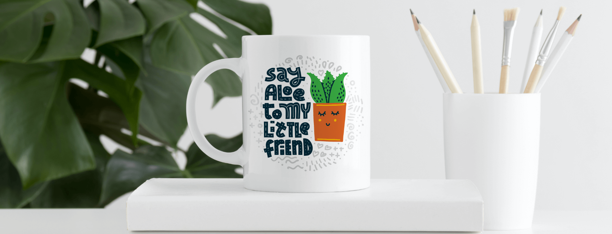 A mug with a funny pun