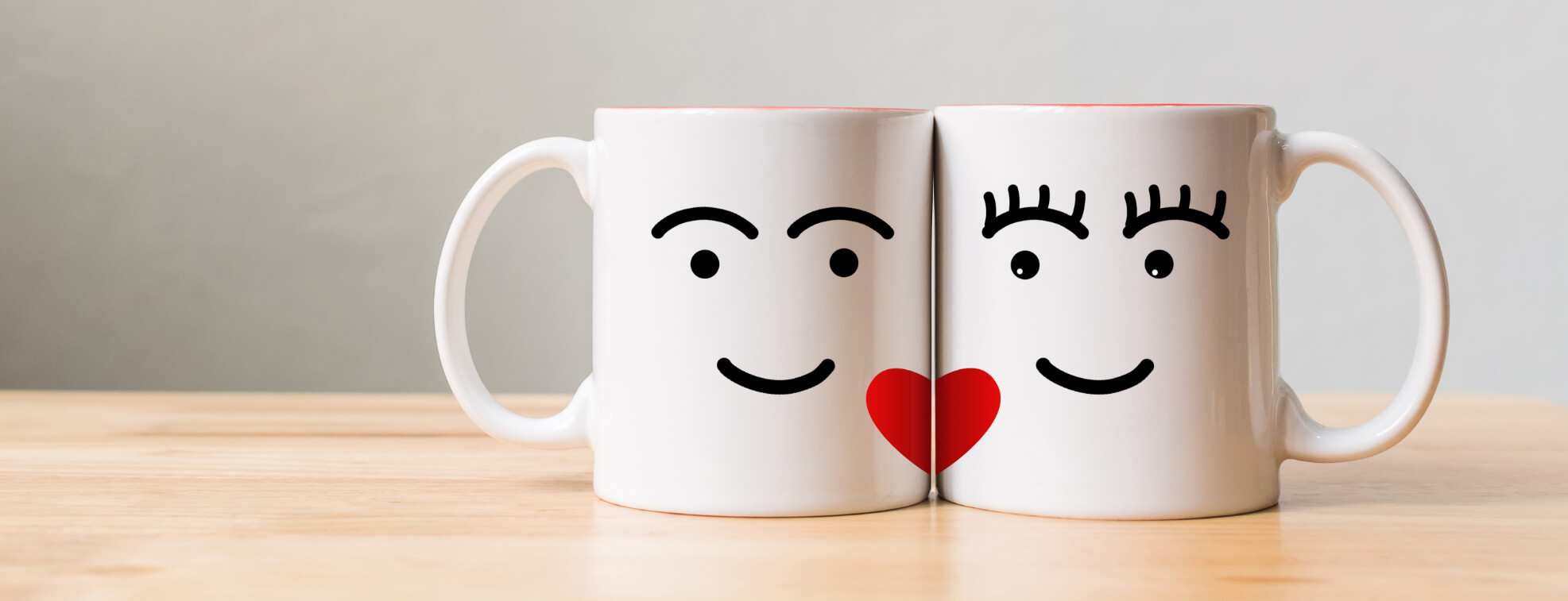 Couple Mugs are a perfect Valentine's Day Gift